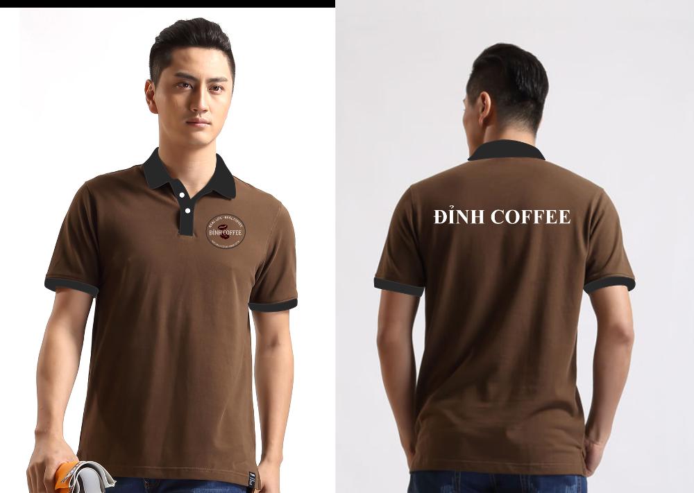Áo thun đồng phục quán Đỉnh Coffee - Hình 1