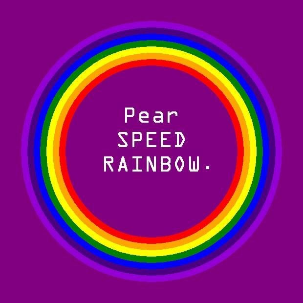 Pear-SPEED-RAINBOW.  Defuse sense of lack, allowing flow with abundance in Wellness, Interpersonal Relationships (family, friends, social, business), Spiritual, Intellectual and Financial, bring about abundance, good fortune and prosperity, live a colorful conscious life.  Kat's Switchphrase for January 21, 2013.