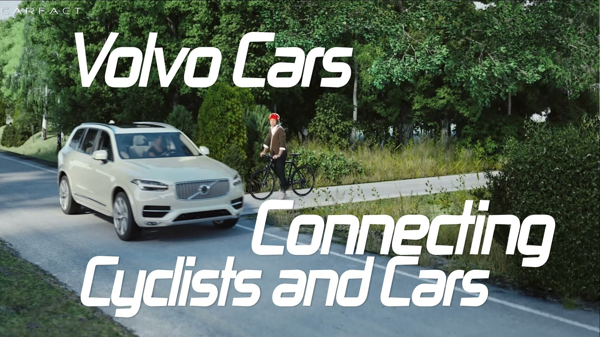 Volvo Cars Connecting Cyclists and Cars (With images
