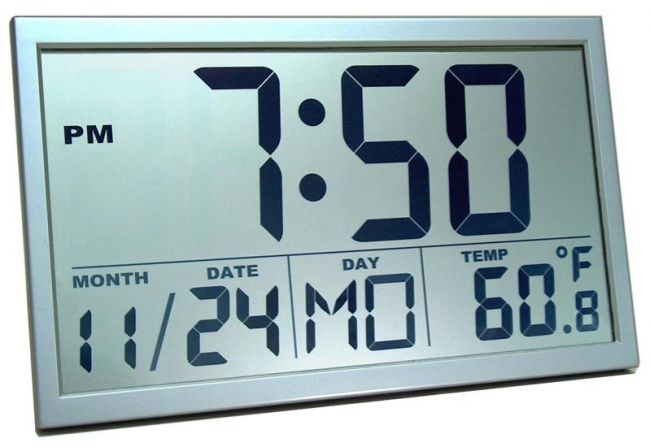 Amazing Digital Wall Clocks Hometone Atomic Wall Clock Large Digital Wall Clock Wall Clock With Date