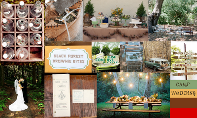 Wedding Inspiration Camp Weddings Amp Events Waziyatah Rustic And Modern White Every Last Wonderful Day Llc