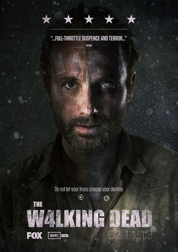 The Walking Dead - Season 4 Concept Poster by Frazer Fox ...