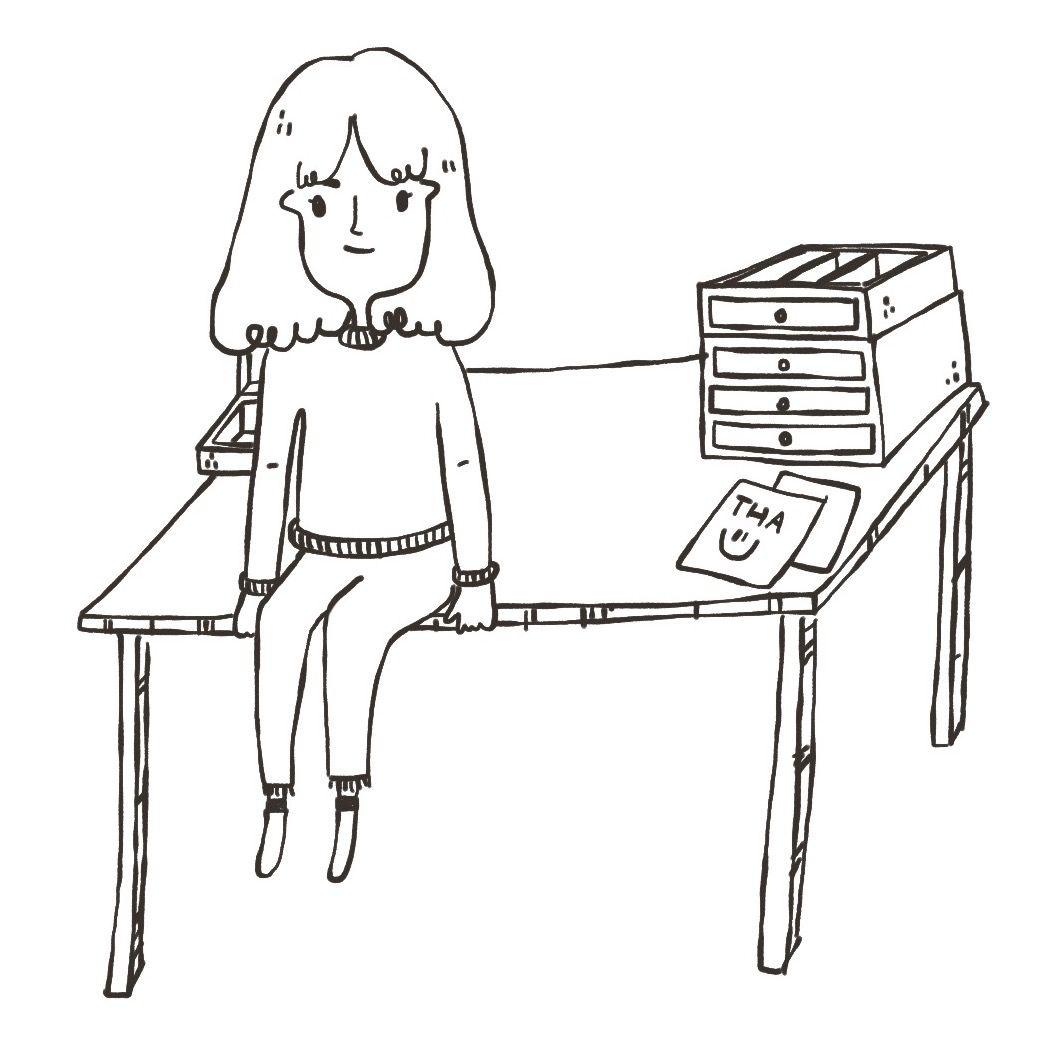 Broken Table Drawing