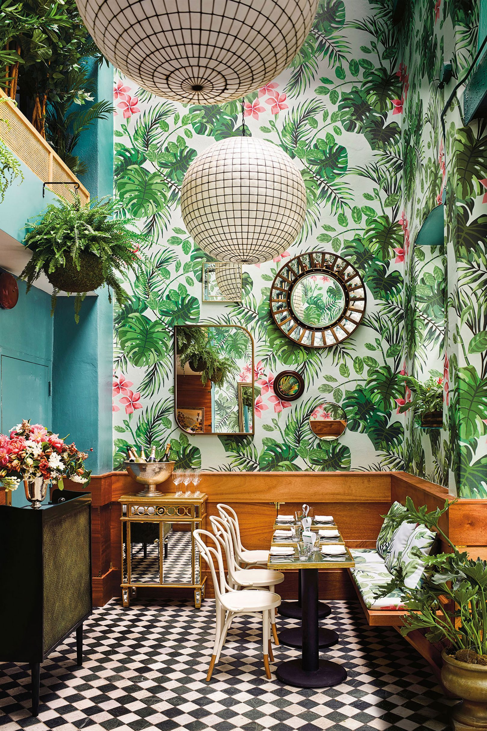 The most beautiful restaurants in the world Tropical