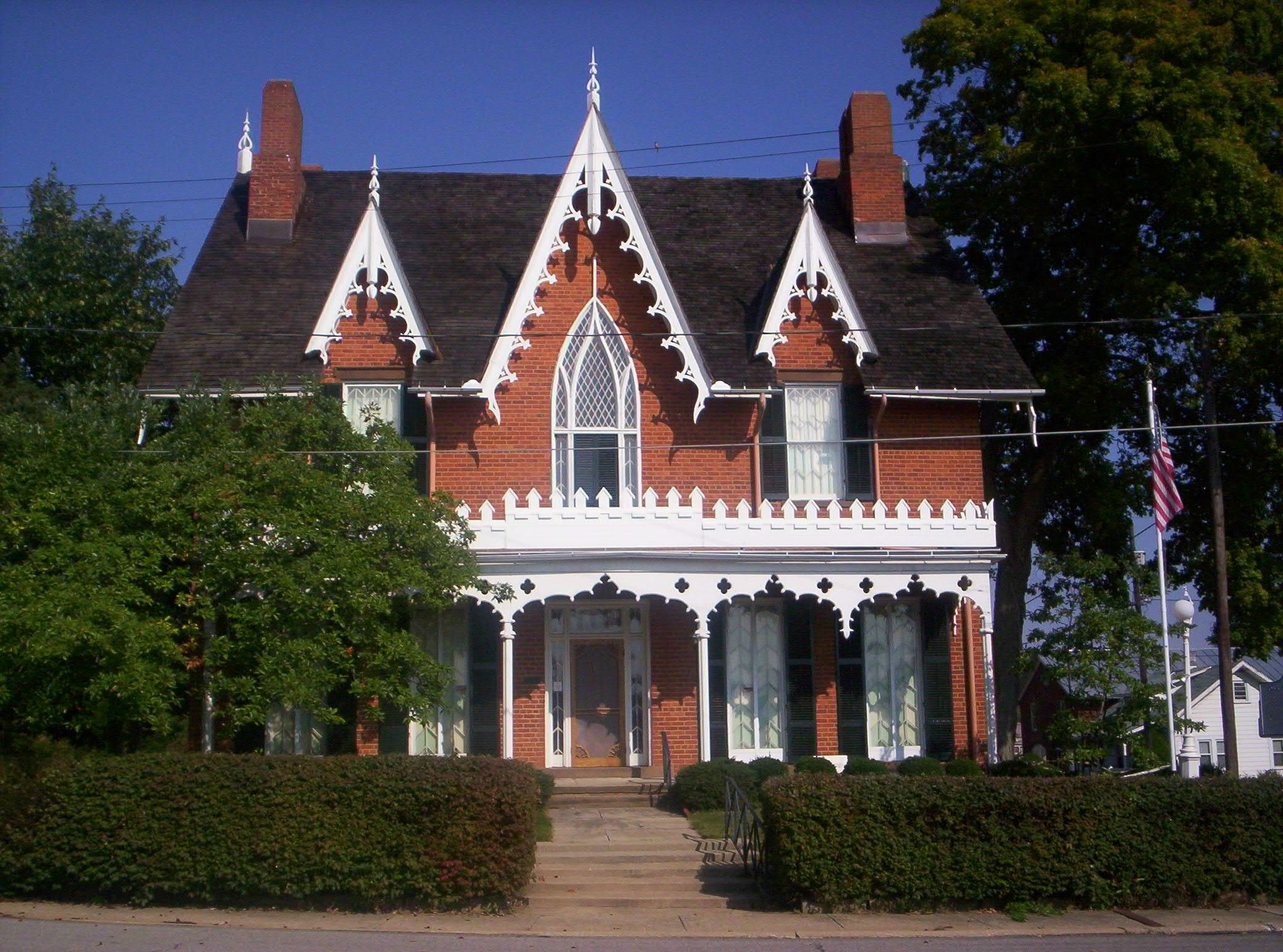 Oak Hill Cottage Victorian House Plans Victorian Homes Gothic House