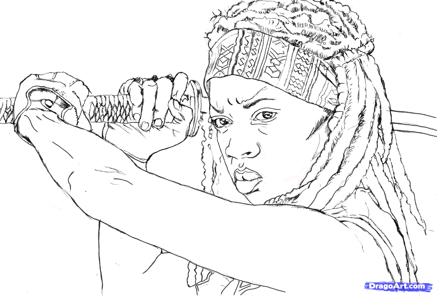 Mochonne Colouring Pages Page 2 The Walking Dead Coloring Pages Coloring Books