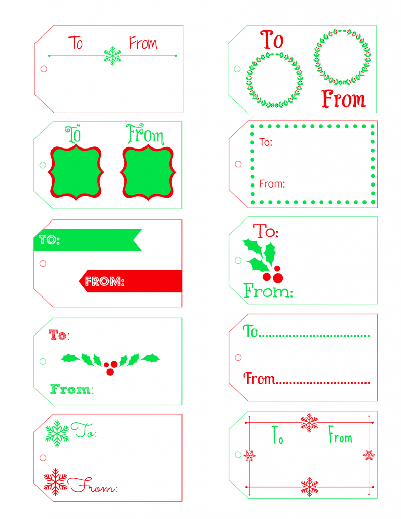 Free printable christmas gift tags free printable gift tags free printable gift tags dont waste money buying gift tags when you can negle Image collections