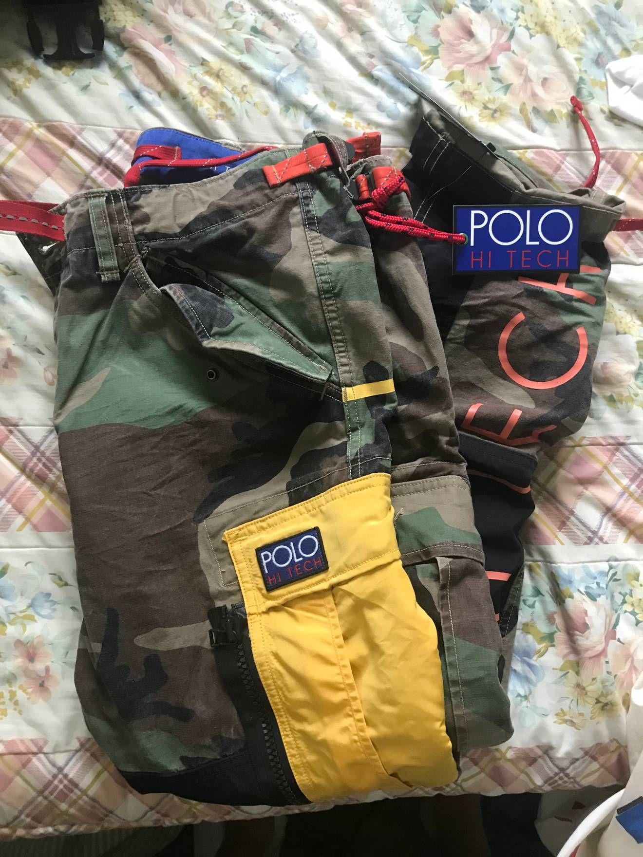 3399fa0b0 Polo Ralph Lauren Polo Ralph Lauren Hi Tech Camo Cargo Pant 32x30 Size US 32    EU 48