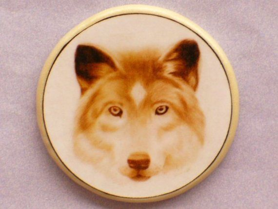 Beautiful WOLF TOTEM Talisman Amulet Witch by EclecticEnchantments