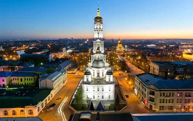40 самых высоких православных колоколен