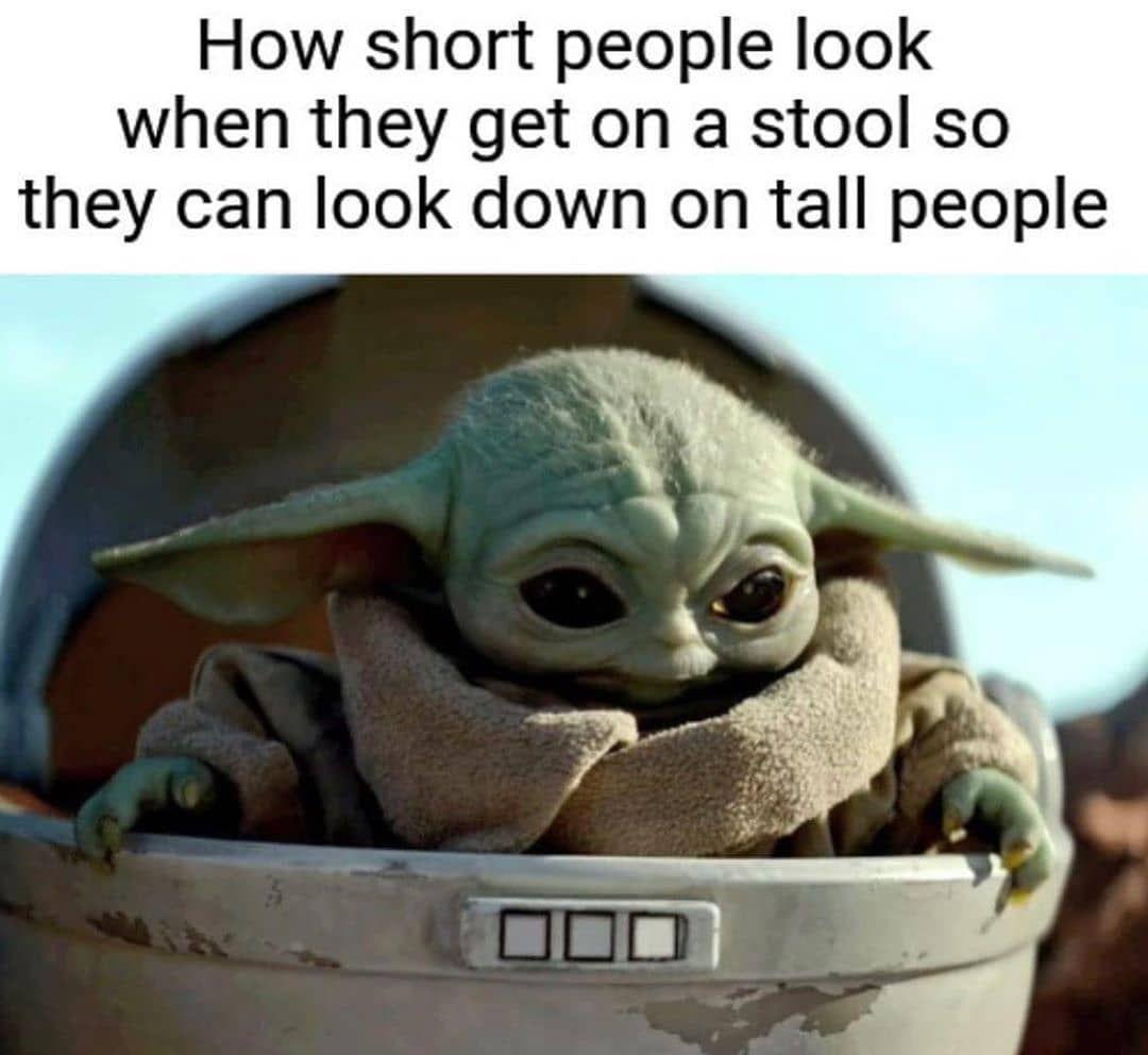 Pin By Adayah Pace On O Baby Yoda Yoda Meme Terrible Jokes Yoda Funny