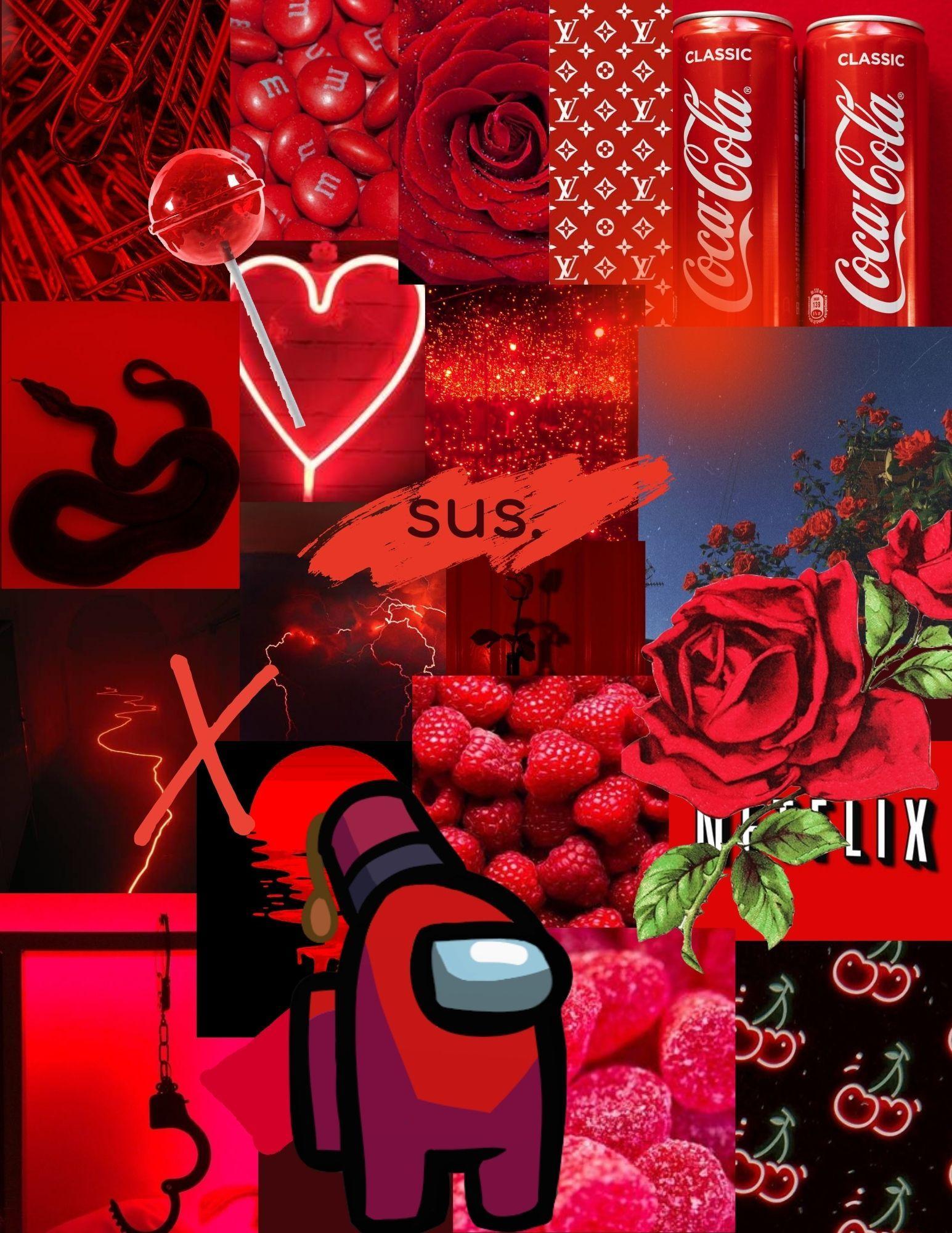 Red Among Us Iphone Wallpaper Girly Wallpaper Iphone Cute Cute Emoji Wallpaper