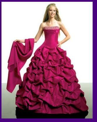 Vestido Xv Años Rosa Fiusha Moda Femenina Que Me Encanta