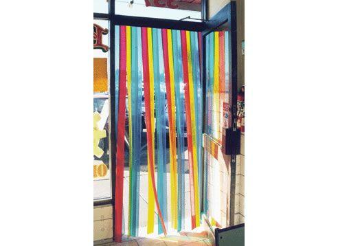 Coloured Plastic Strip Door Entry   Http://www.spec Net.
