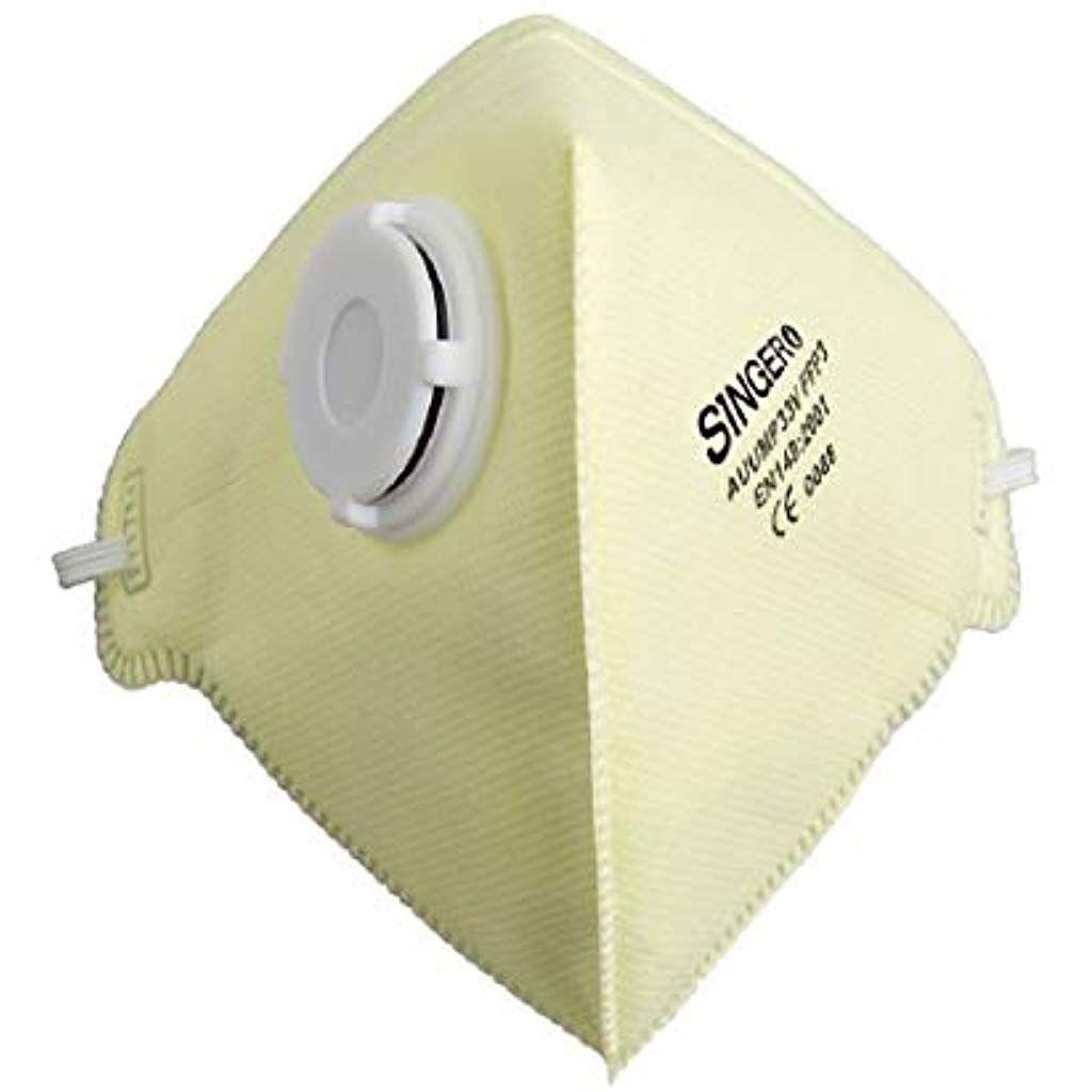 Mundschutz 20 Stuckfaltbar Atemschutzmaske Mit Ventil Ffp3