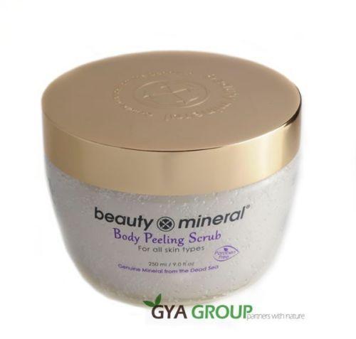Beauty Mineral Dead Sea body peeling Scrub Vanilla patchouli, Apple, Ocean Scent