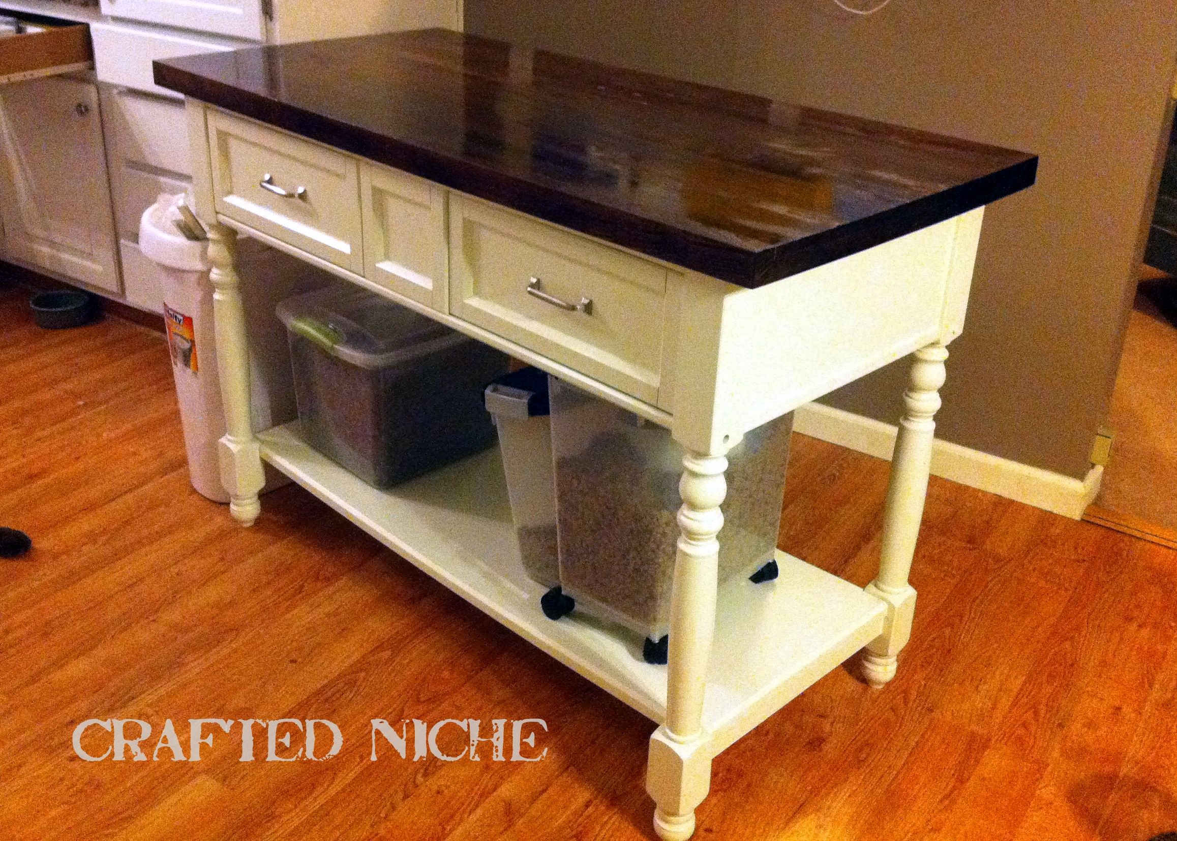 Craigslist Table To Kitchen Island Diy How To Kitchen Islands Love
