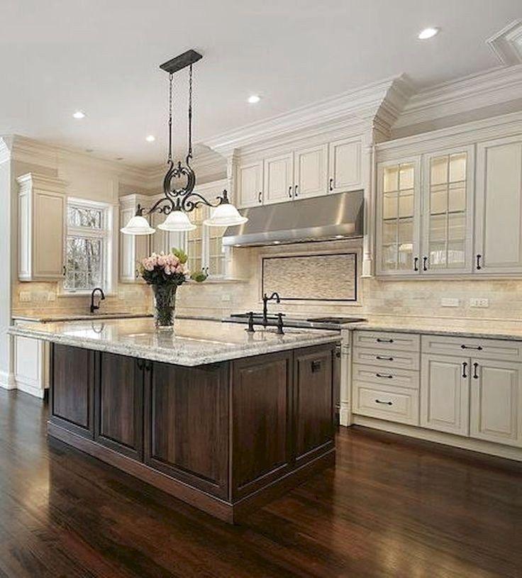 45 Best Rustic Farmhouse Decor Kitchen Cabinet Ideas ...