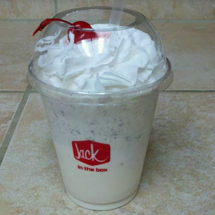 I'm in the mood for a milkshake. How are the shakes from Jack In the Box? I've never had them and was wondering if they were good? The commercials have totally sucked me in.