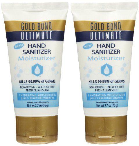 Gold Bond Ultimate Hand Sanitizer Sheer Moisture Fresh Citrus