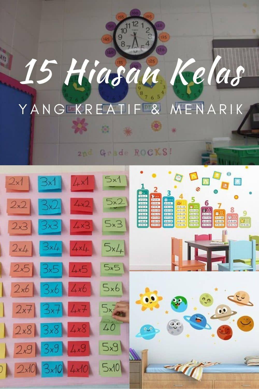 Dekorasi Ruang Kelas Sd : dekorasi, ruang, kelas, Dekorasi, Kelas