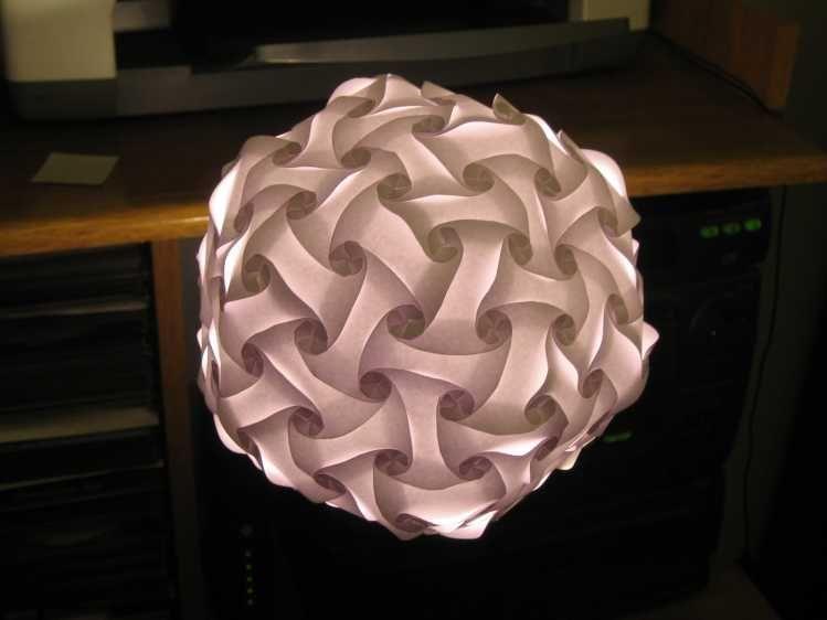 Universal Lamp Shade Polygon Building Kit Lamper