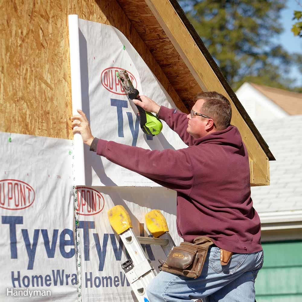 Building and house wrap installation tips installation