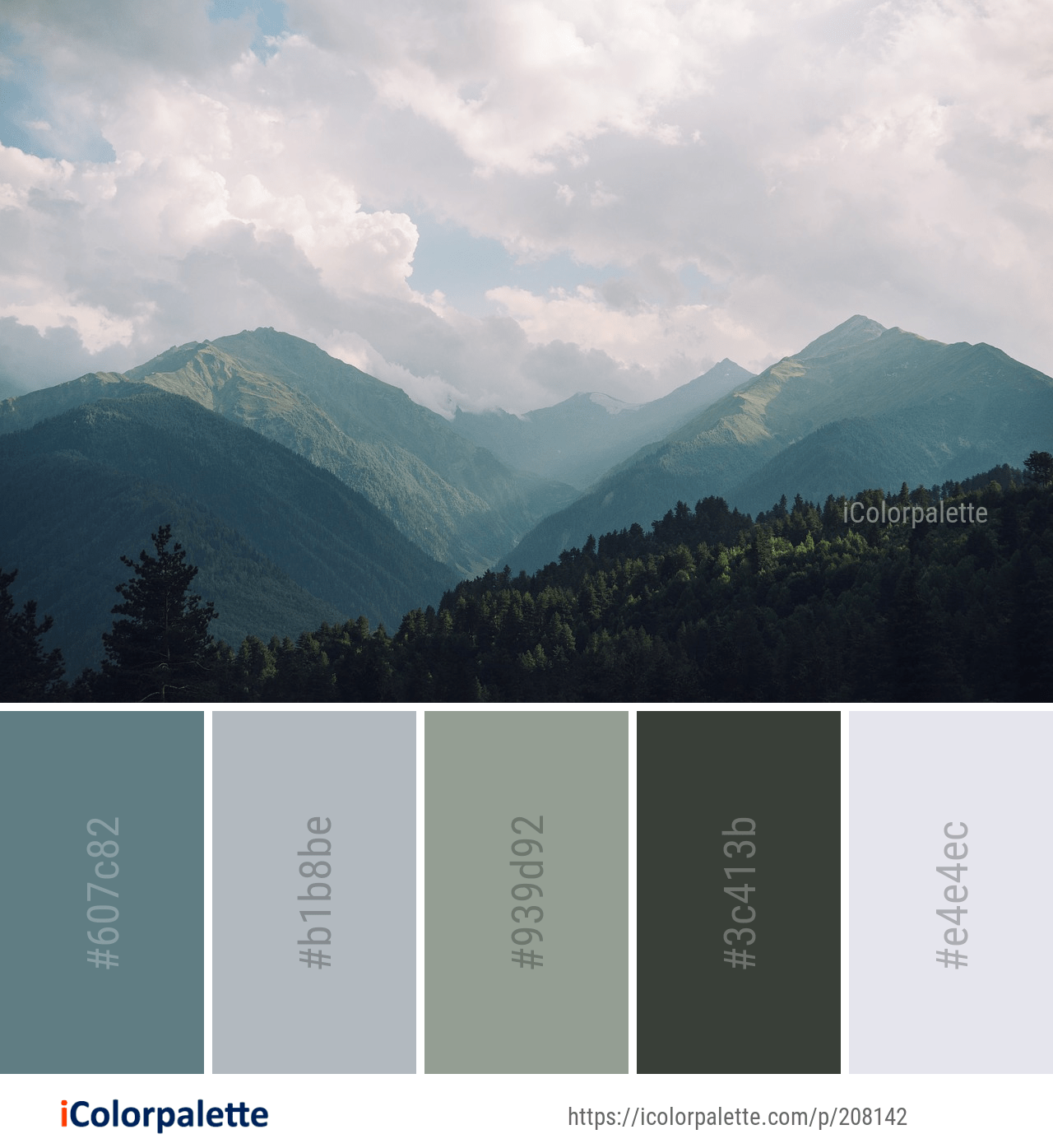 47 Farben Wände Ideen Farbpaletten: Color Palette Ideas From 3368 Nature Images