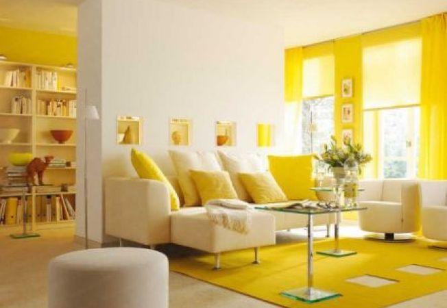 5 idei de design cu sofisticata nuanta galben | Living room ...