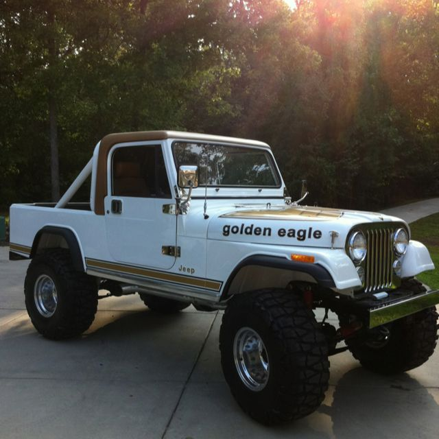 1981 Cj8 Scrambler Golden Eagle This Kind Of Reminds Me Of
