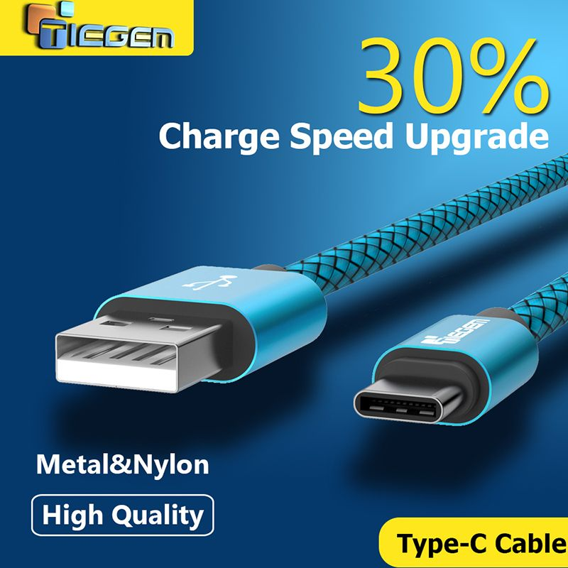 Micro USB Cable Data Sync Charger Line Braided Nylon Cord For Samsung HTC LG
