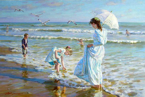 Il Mondo Di Mary Antony I Dipinti Realistici Stile Impressionista