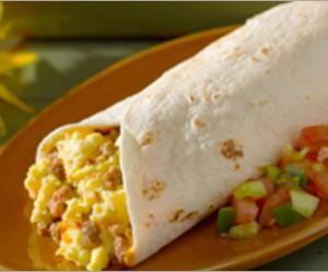 Healthy Eating Breakfast Burrito Recipe Recipes Healthy Breakfast Burrito Mexican Food Recipes