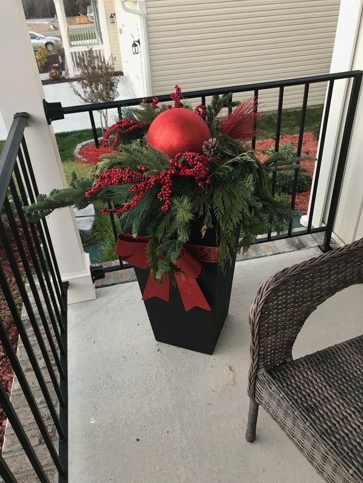 Weinachten #weihnachtsdekohauseingang