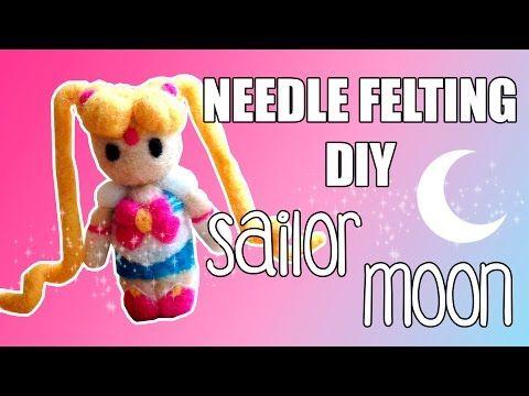 Needle Felting DIY - Sailor Moon - YouTube