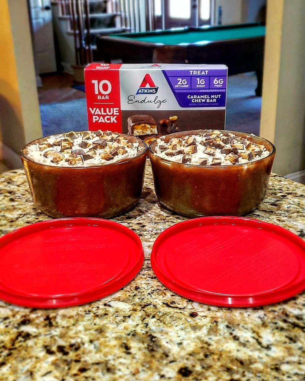 No-Bake Snickers cheesecake Lowcarb/Keto and not only the best I've ever made, but also the best I'v #snickerscheesecake