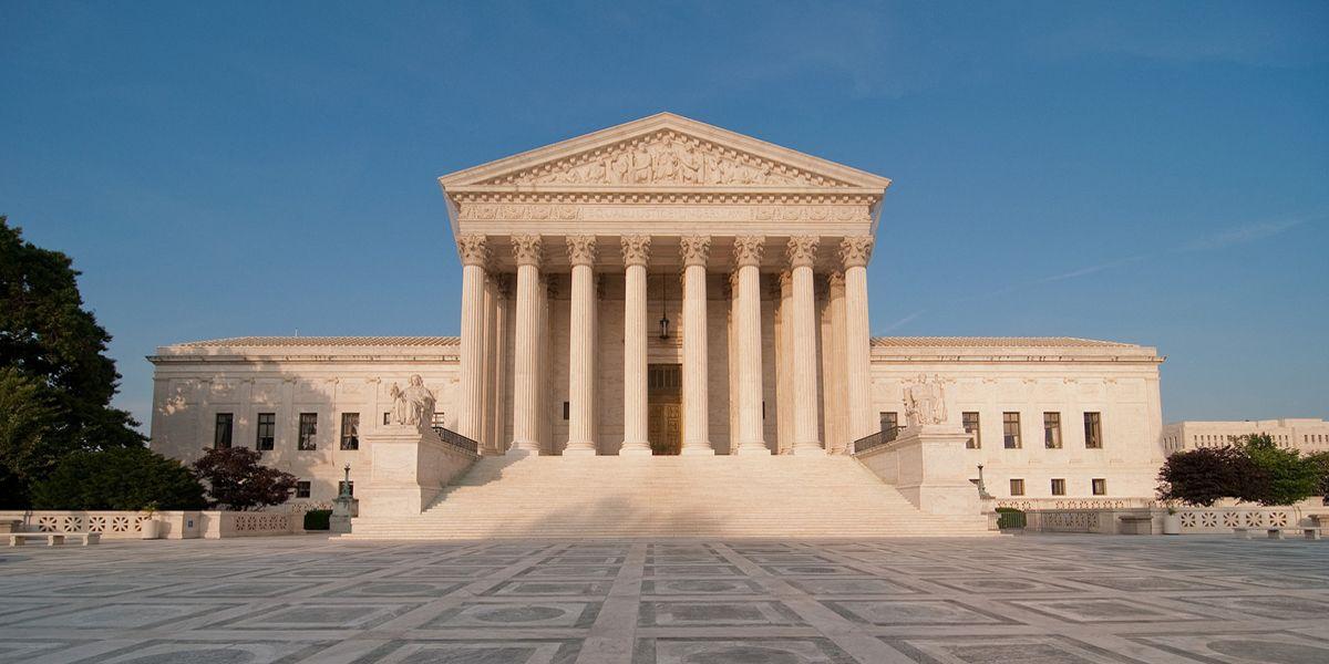 Landmark supreme court cases supreme court building