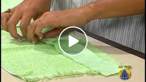 Bolsa toalha de mão por Patrícia Oliveira