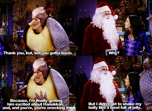the one with the holiday armadillo | F.R.I.E.N.D.S | Pinterest ...