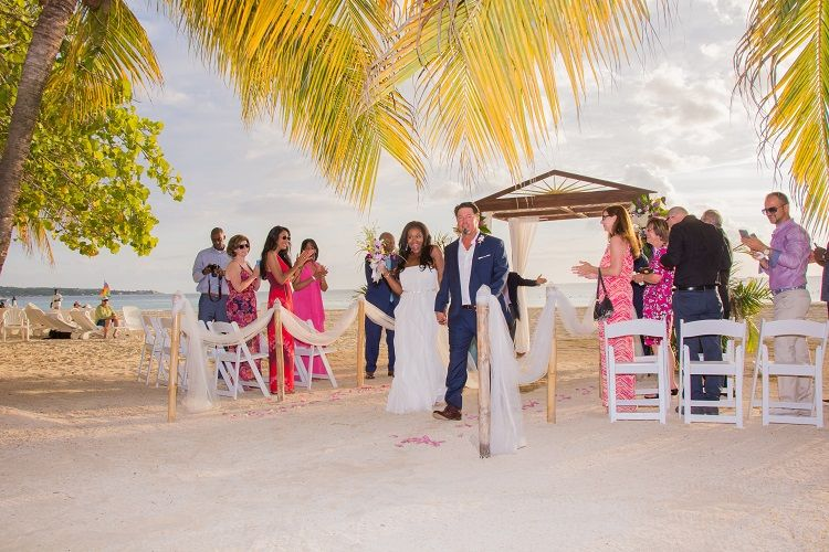 Real Wedding Javonne Chad In Negril Jamaica Destination Weddings Destination Wedding Jamaica Destination Wedding Ceremony Inspiration