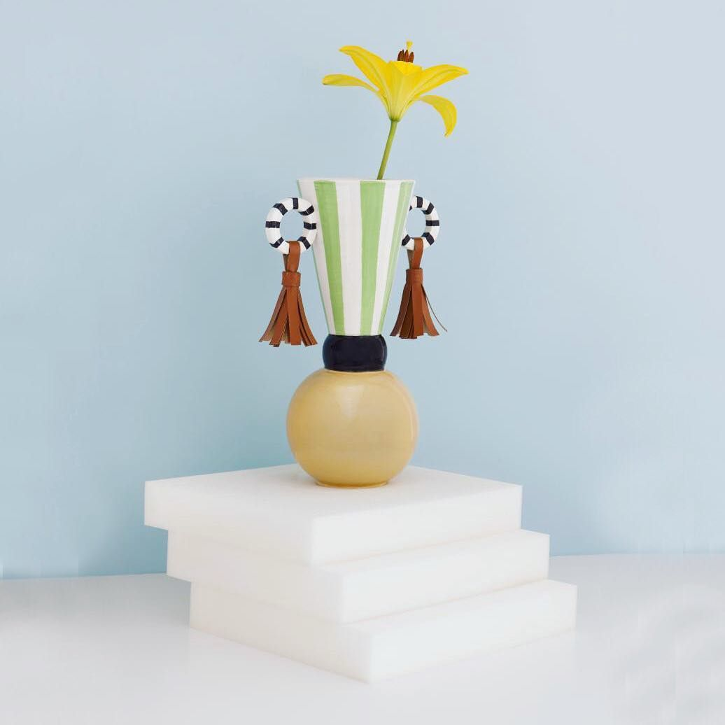 New to the site the Masai Earrings Vase by serenaconfalonieri is