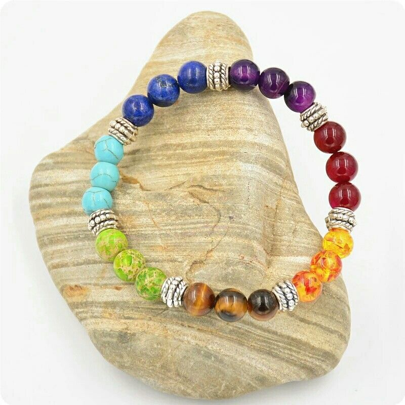 LOVE THIS ?  Healing 7 Chakra Crystal Meditation Bracelets absolutely FREE ✨✨✨ . 💠 Just help us with shipping. 💠 Share a friend who would love this. . Worldwide Shipping 🛩🌐 Shop our feed via Bio link 📲 www.velmacrafts.com