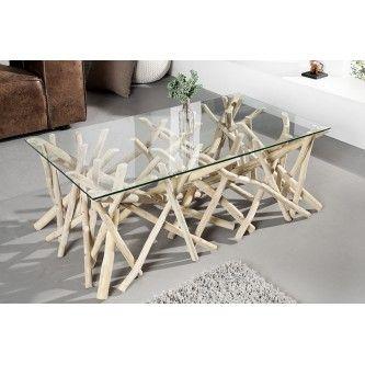 Table Basse Design Bois Flotte Adora 110 Cm Tables Basses