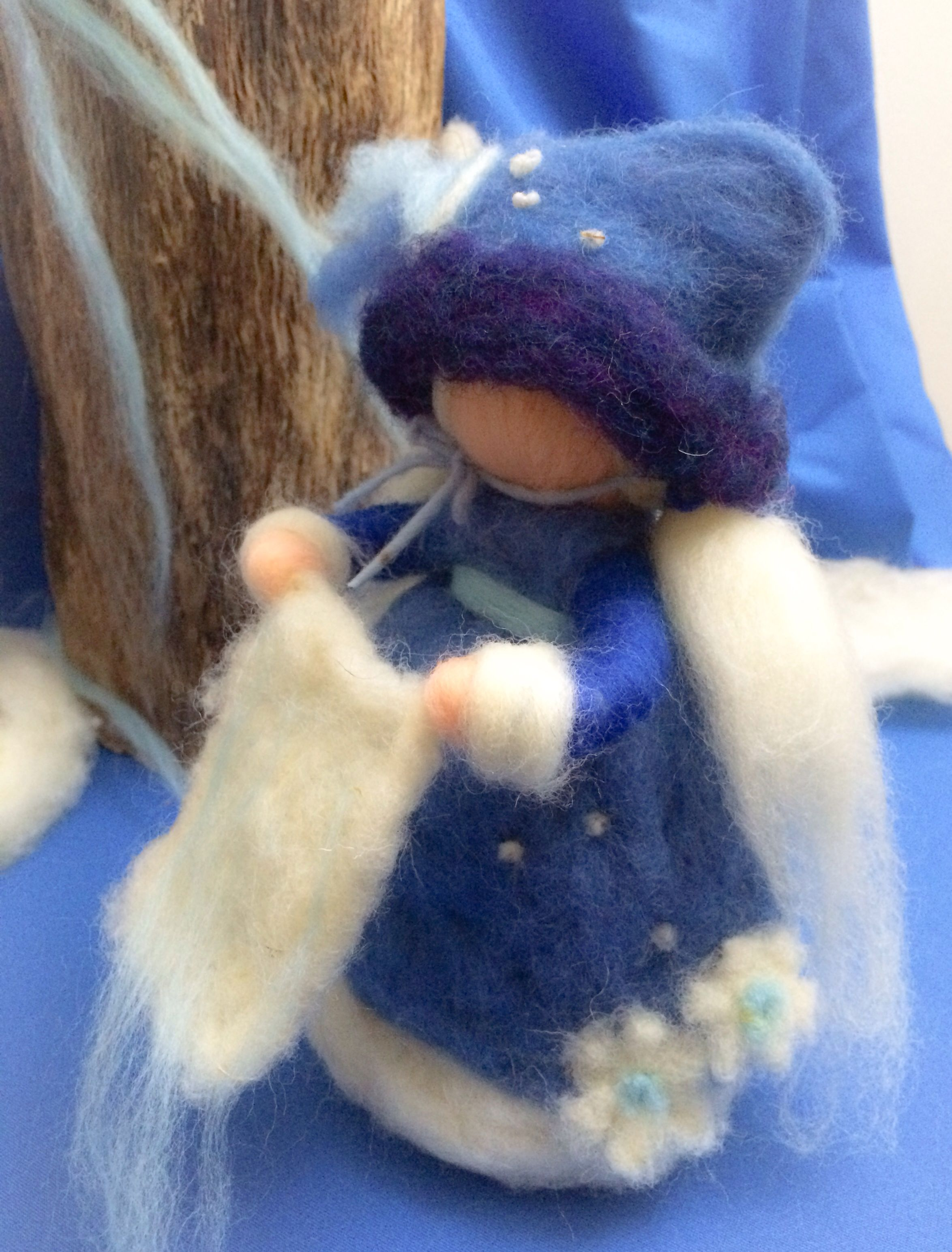 Needle+felted+waldorf+by Isabel salvador