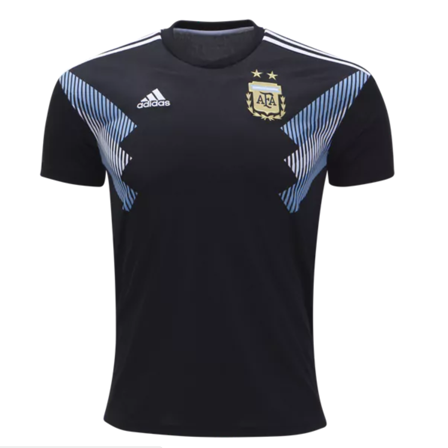 682647f11 Argentina 2018 World Cup Away Men Soccer Jersey Personalized Name and Number  - zorrojersey