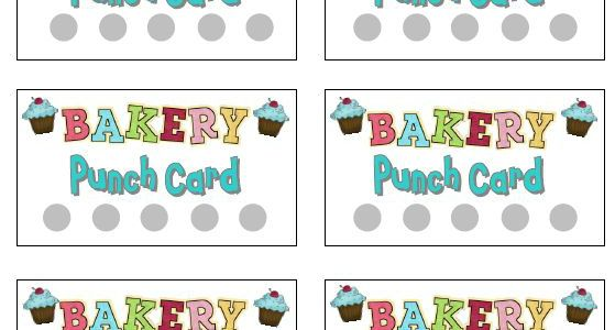 image about Free Printable Punch Cards called Printable Punch Playing cards for Spectacular Participate in Pre-K Spectacular