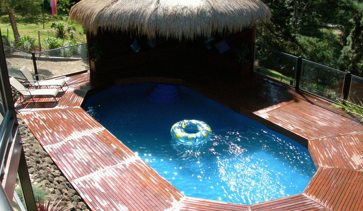 Above ground fiberglass pool home 2 pinterest above ground pool in ground pools and above for Small swimming pools melbourne