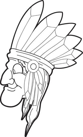 Printable Native American Coloring Page For Kids Coloring Pages Coloring Pages For Kids Printable Coloring Pages