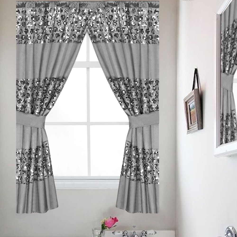 Online Shopping Bedding Furniture Electronics Jewelry Clothing More Bathroom Window Curtains Silver