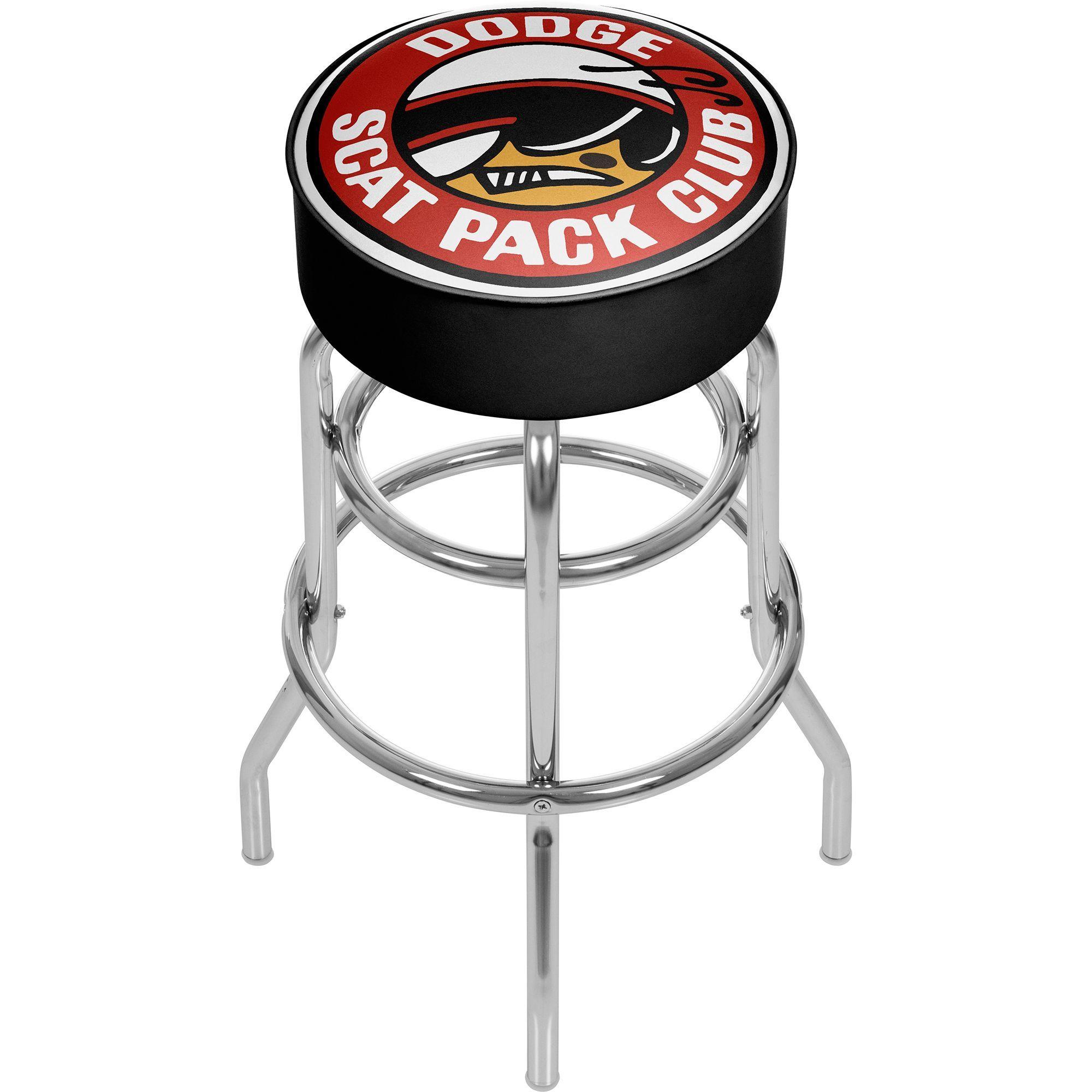 Trademark Dodge Bar Stool - Scat Pack Club